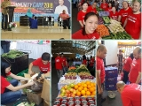 Thank u very much to our volunteers for helping out this morning distributing off the surplus vegetables & fruits to the 200 needy families in the My Community Care 2018 event organised by @Jabatan Kebajikan Masyarakat Wilayah Persekutuan Kuala Lumpur here in Lembah Pantai. - Vivian @ Kechara Soup Kitchen