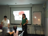 Teacher Melinda very good in story telling, Everyone enjoy so much.by Asyley Chia KSDS