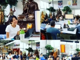 Awesome sharing by Abby Foo on Tsem Rinpoche's bio, Saturday at KFR ~ Wai Meng
