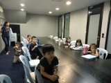2 to 6 year old students concentrate on jataka tales.by Asyley Chia KSDS