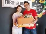 Started collecting surplus produce from Fresh St. Grocer. Another grocer in the list; Thank you Tiffany Ong for letting us to collect from your supermarket. We will use it for our #soupkitchen distribution. #kecharafoodbank - Vivian @ Kechara Soup Kitchen