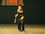 Hubert, one of KSDS students who is talented in Wushu and performed in KSDS Graduation 2018. Alice Tay, KSDS