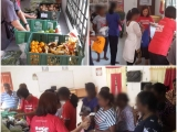 #Surplus #food #distribution to 20 needy families staying around Kebun Bunga, #Penang - Vivian @ Kechara Soup Kitchen