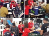 Rain or shine we will be there to distribute surplus food to the needy families living around Jlns Sungai. Thank you to all volunteers for turning up on a wet afternoon. - Vivian @ Kechara Soup Kitchen