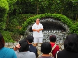 Pastor Gim Lee gave an interesting introduction to Green Tara during the recentl pilgrimage cum camp event. Lin Mun KSDS