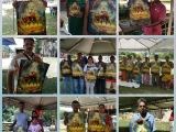 Promoting Dorje Shugden at Kuil Siva Sri Subramaniam at Gopeng, Perak. So Kin Hoe (KISG)