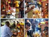 Many people paid homage to Dorje Shugden at Kuil Siva Sri Subramaniam, Gopeng today. So Kin Hoe (KISG)