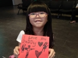 One way to show your love to parents. (Alice showed her DIY card for her parents happily) Alice Tay, KSDS