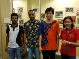 Danish, Lik Hong and Eshath from Sunway University were of great help to us from food surplus pick up, food surplus distribution, kitchen and foodbank delivery. We would like to thank them for the assistance. - Vivian @ Kechara Soup Kitchen