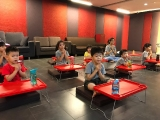 Children as young as 3 years old can join the weekly Sunday Dharma classes in Kechara. Lin Mun KSDS