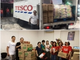 Thank you to Tesco Malaysia for the truck load of foodstuffs for our Food Bank and to all volunteers who helped to unload and sort out the items!!! #kecharasoupkitchen #foodbank #kecharafoodbank #barangdapur #community #helpthepoor #foodsurplus #tesco #danabulanbermakna - Vivian @ Kechara Soup Kitchen