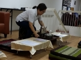 Ms. Glian Sim prepared for all the Serkym offering sets prior the prayer session in Ipoh today. So Kin Hoe (KISG)