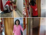 One day, we received a humble wish list from this poor family, an elderly mother who takes care of her grown up son with special needs. 'It's quite uneasy to use toilet without a proper door but I do not have enough money to fix it,' said the mother. Without a second thought, our kindest sponsor, La Hong Eu has decided to make meaningful sponsorship to this case. Big thanks to Bernard Ting and Vickneshwaran for helping this family to replace the broken one with a brand new folding door. Together we are the reason that someone has a sweet smile on her face. #Kechara #foodbank #care - Vivian @ Kechara Soup Kitchen