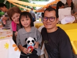 Kid's corner for Wesak event at Kechara Forest Retreat by KSDS Asyley Chia