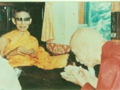 H.H. Kyabje Zong Rinpoche meeting his guru H.H. Kyabje Trijang Rinpoche