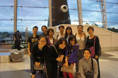 Group pic @ KLIA