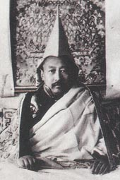 His Holiness the 9th Panchen Rinpoche Chokyi Nyima Gelek Namgyal