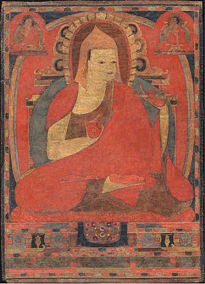 His Holiness Atiśa Dīpaṃkara Śrījñāna, one of the greatest figures of in Vajrayana Buddhism