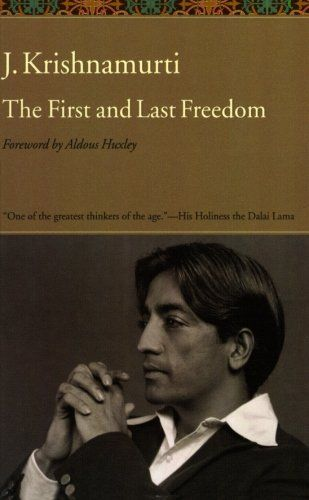 Krishnamurti's popular books
