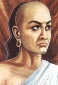 A depiction of Chanakya.