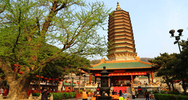 Zhao Xian Ta (Immortal-Solicited Pagoda) of Lingguang temple