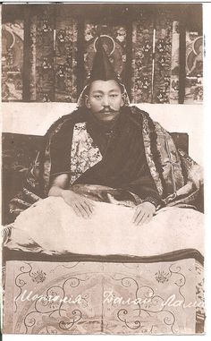 The 13th Dalai Lama Thubten Gyatso