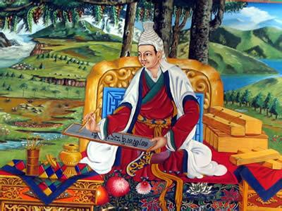 The Inventor of the Tibetan Script.