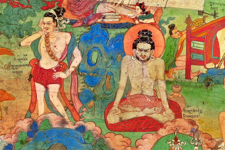 Mahasiddhas are great yogis who engaged in tantric practices and attained great realisations
