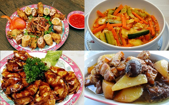 Some popular Nyonya dishes