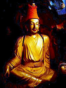 King Songtsen Gampo built 108 temples on Mount Wutai
