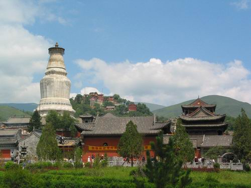 The Great White Pagoda