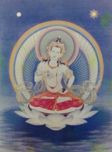 The first gift I ever received from Rinpoche was a picture of Vajrasattva and his holy practice