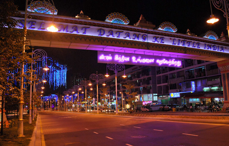 Little India, Brickfields entrance
