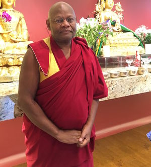 Lobzang Dorje. In October of 2016, the Dagom Geden Kunyob Ling Dharma Center officially opened. It is Dorje's hope that the center can be a source of good not only for the larger Indianapolis community, but for the Black community, as well.