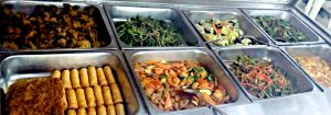 Mixed rice dishes