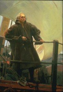 Christopher Columbus leaving Palos, Spain by Joaquin Sorolla y Bastida