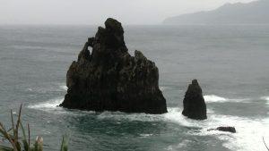 Famous Reynisdrangar rock formations