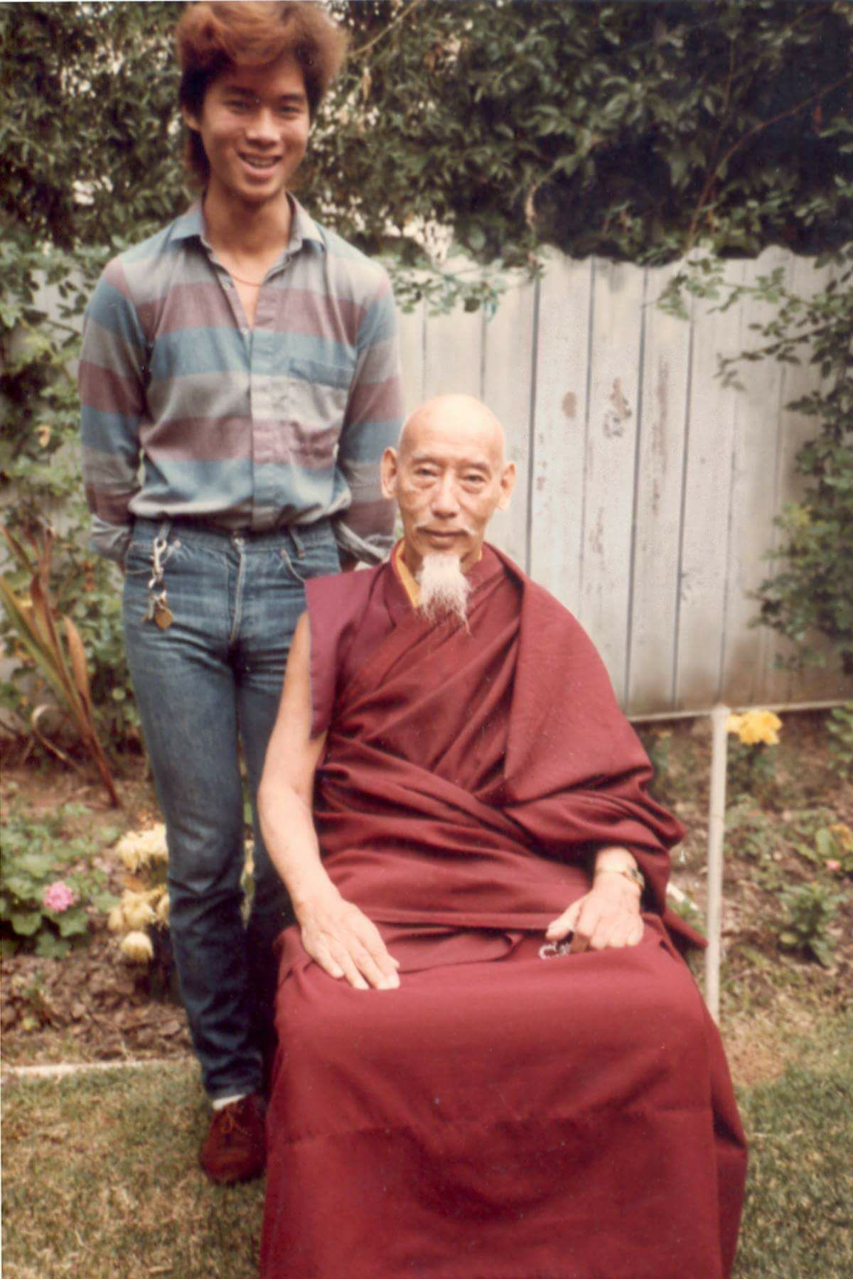 Tsem Rinpoche and Zong Rinpoche