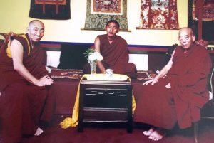 Three High Lamas
