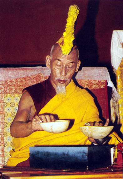 His Holiness Kyabje Zong Rinpoche was a renowned ritual master who even had the ability to control the weather.