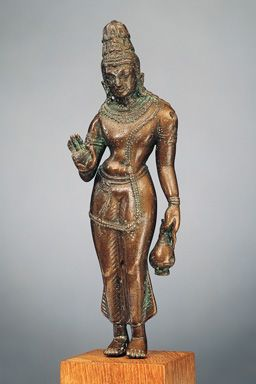 Standing Avalokiteshvara statue from between the 8th and 9th century.