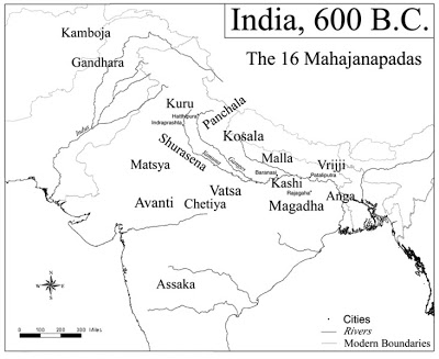 After the great Indus Valley Civilizations along the Indus and Saraswati rivers