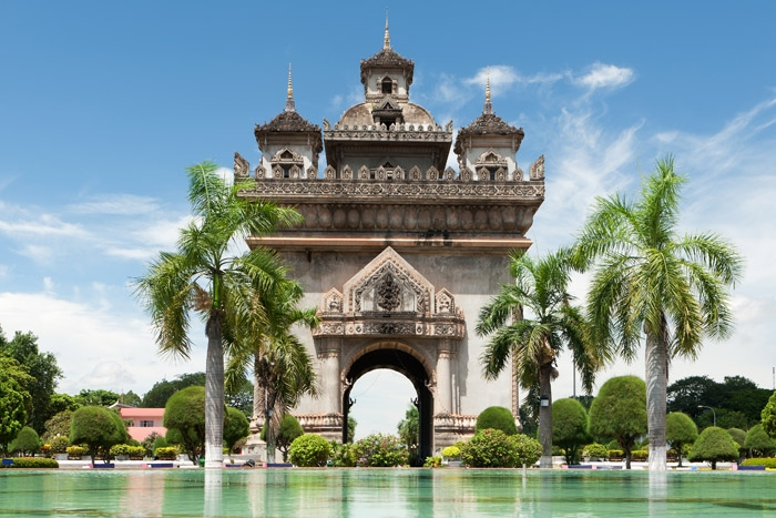 Laos was once known as the Ancient Kingdom of Lane Xang or Land of a Million Elephants