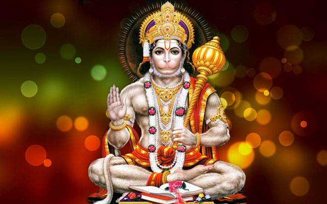 The monkey god Hanuman