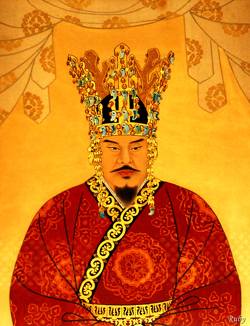 King Munmu defeated Goguryeo Military and unified the Korean peninsula in 668