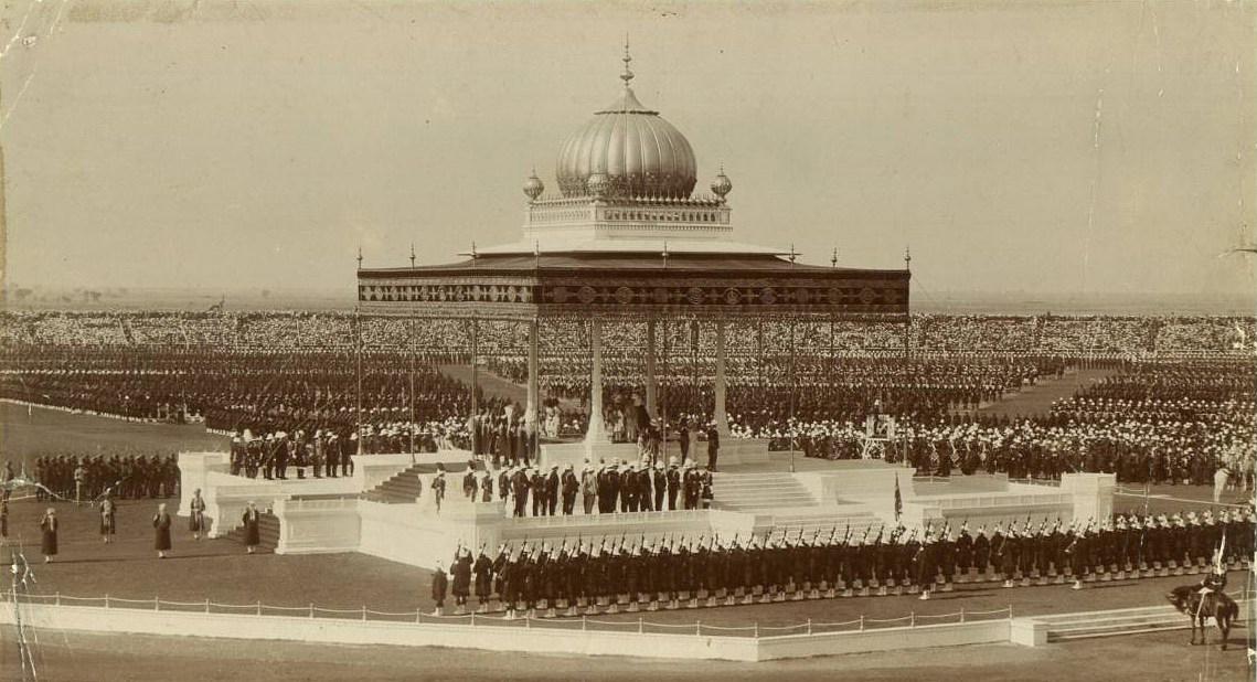 Imperial Durbar in New Delhi in 1911