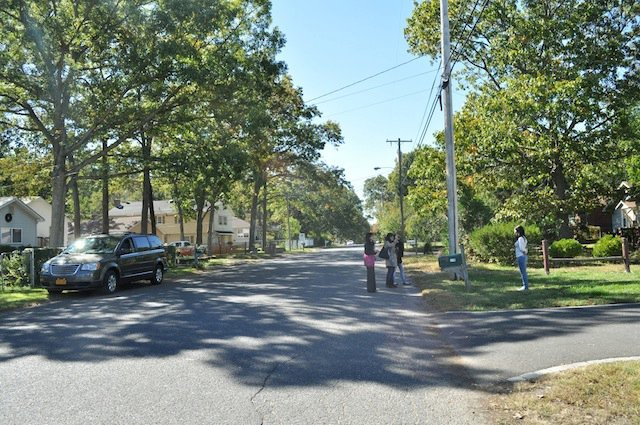 The street outside my childhood home in Howell, New Jersey. It was a really wonderful town to grow up in.