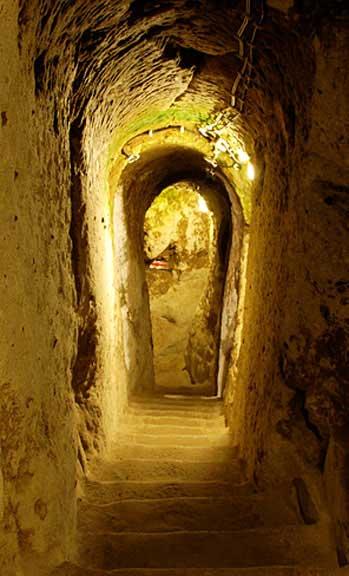Derinkuyu underground tunnels