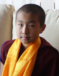 The other H.E. the 3rd Domo Geshe Rinpoche who was recognized by His Holiness the Dalai Lama. This 'recognition' is not accepted by the majority of the Dorje Shugden practitioners and directly contradicts the Tibetan leadership's claim that Dorje Shugden worship is a form of spirit practice. The 2nd Domo Geshe Rinpoche was a prominent Dorje Shugden practitioner and according to the Tibetan leadership's arguments for banning Shugden practice, he should have taken rebirth in the three lower realms. Why then has the CTA been so insistent on recognizing his reincarnation if, according to them, the 2nd Domo Geshe Rinpoche as a Shugden worshipper, took rebirth in the lower realms? According to their logic, it would therefore make their candidate a fake reincarnation. The CTA's recognition of a Domo Geshe Rinpoche candidate is illogical, hypocritical and does not fall in line with any of their arguments for banning Dorje Shugden practice.