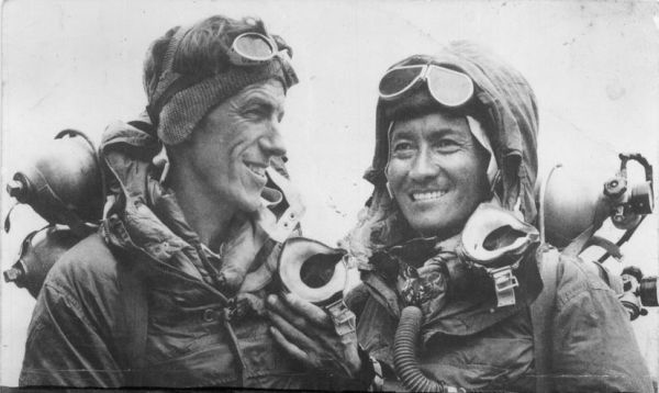 Sir Edmund Hillary and Tenzing Norgay